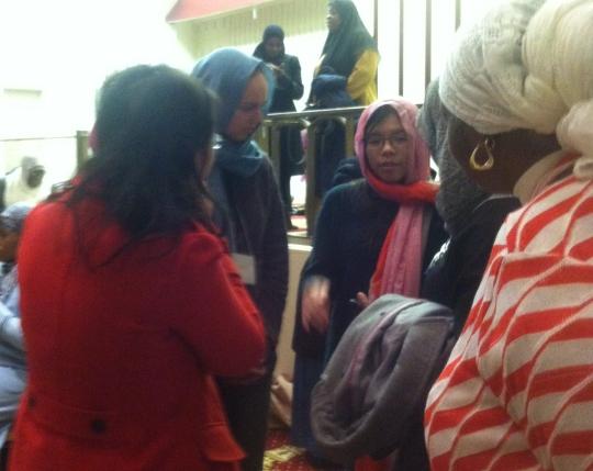 MasjidWomenconversation